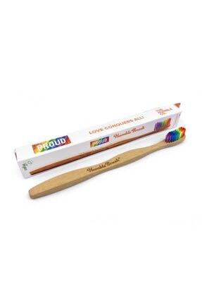 Humble Brush Adult Medium Rainbow Toothbrush
