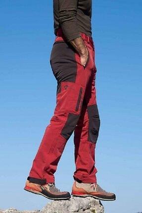High Mountain Nepal Kırmızı Antrasit Bambu Pantolon - S