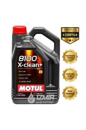 Motul 8100 X-clean (+) 5w/30 5 lt