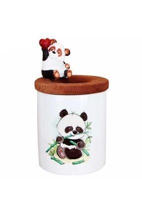 HediyeKanalı Afacan Panda Kalemlik Masum Panda Biblo Seramik Kalemlik