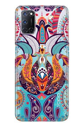 Oppo A72 Pure Modern Desenli Silikon Kılıf Mandala Aşk