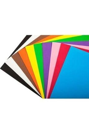 nistabolje 30 Adet Fon Kartonu A4 Boyutu Karışık Renkli