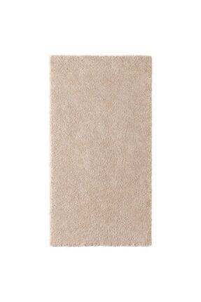 IKEA Halı 80x150 Cm Meridyendukkan Kırık Beyaz-bej Renk Parlak Tüyler Yıkanmaz Modern Halı