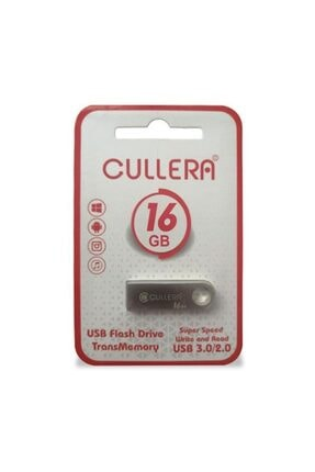 CULLERA 16gb Usb 2.0 Metal Anahtarlık Mini Usb Flash Bellek