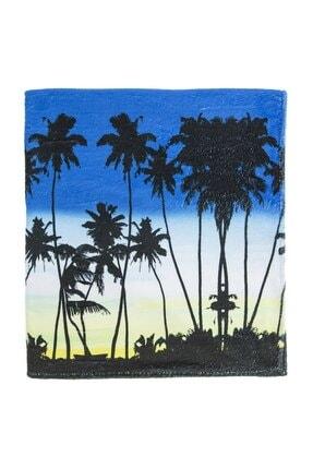 Soobe Çocuk Erkek Plaj Havlusu Mavi 60*150 Cm