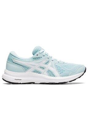 Asics Kadın Mavi Beyaz Koşu Ayakkabısı