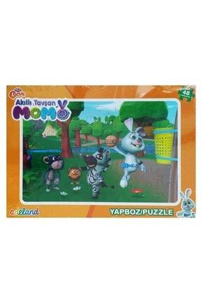 Koza - Oyuncak Market Akıllı Tavşan Momo Yapboz 48 Parça Puzzle Model 3