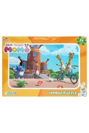 Koza - Oyuncak Market Akıllı Tavşan Momo Yapboz 24 Parça Puzzle Model 1