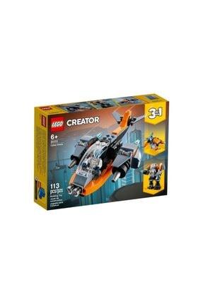 LEGO ® Creator® 3'ü 1 Arada Siber Insansız Hava Aracı 31111 | Siber Iha, Robot Ve Motosiklet (113 PARÇA)
