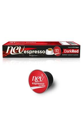 Nev espresso ® Dark Red Kapsül Kahve Nespresso® Uyumlu