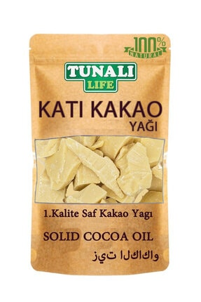 Lokman Hekim Tunalı Katı Kakao - Saf Kakao Yağı - Yenilebilir - 250 GR