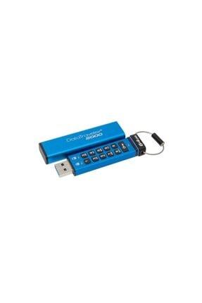 Kingston Dt2000 64 Gb Usb 3.0 Şifreli 256 Bit Aes Hardware Encrypted Flash Bellek