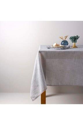 Linens Mirabelle 150x250 cm Masa Örtüsü Taş