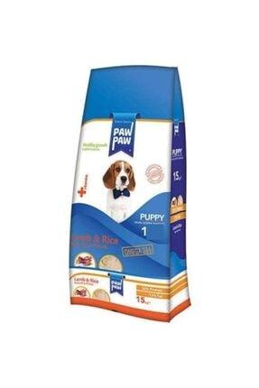 Paw Paw Kuzu Etli Ve Pirinçli Yavru Köpek Maması 1 Kg Şeffaf Paket