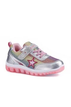 Kinetix Gümüş Kız Çocuk Yürüyüş Ayakkabısı