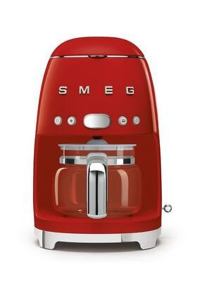 SMEG Kırmızı Filtre Makinesi 50's Retro Dcf02rdeu