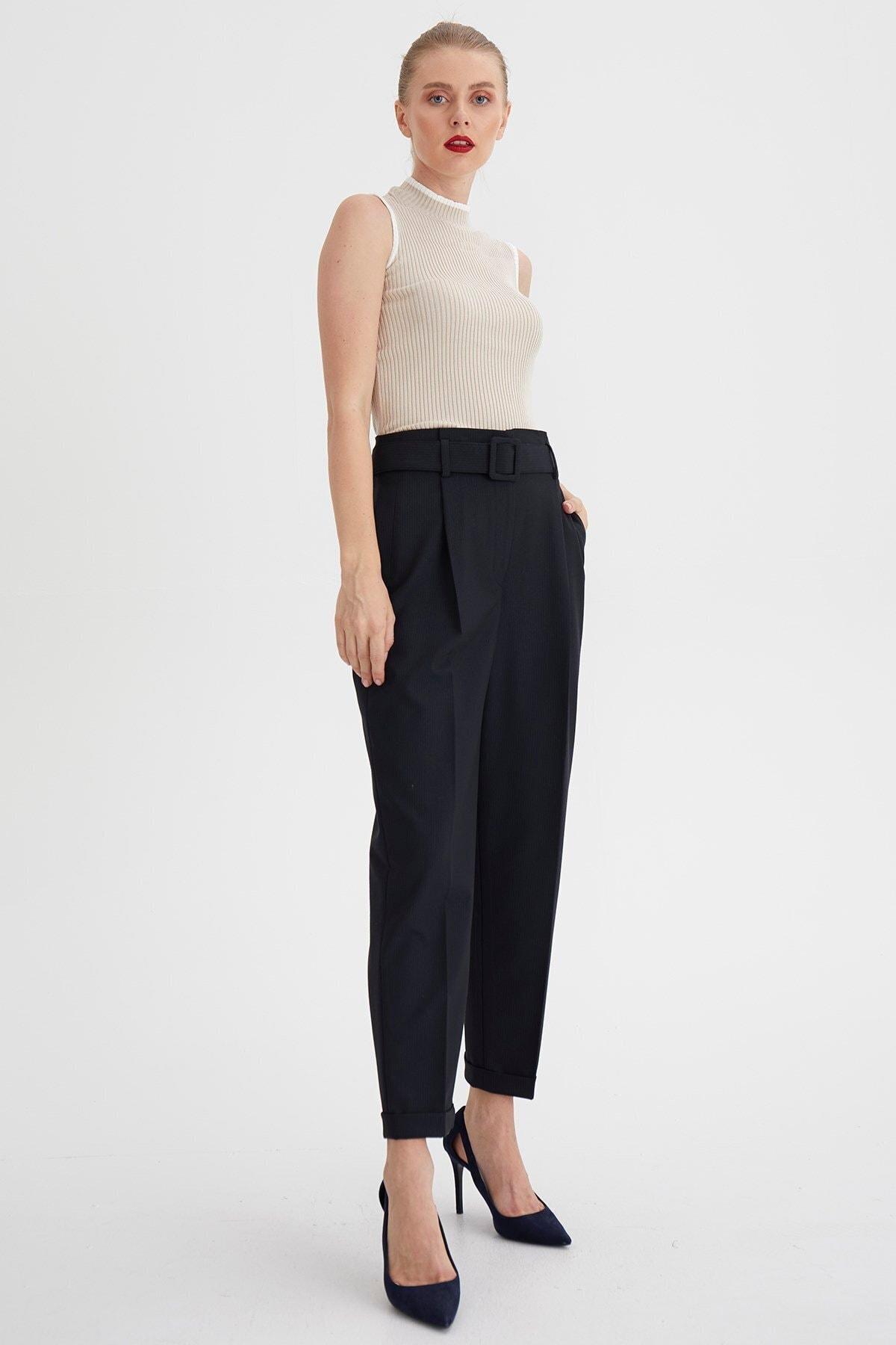Chima Geniş Fileto Cepli Pantolon 1
