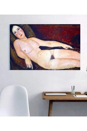 TabloPro Amedeo Modigliani Divandaki Nü Kanvas Tablo