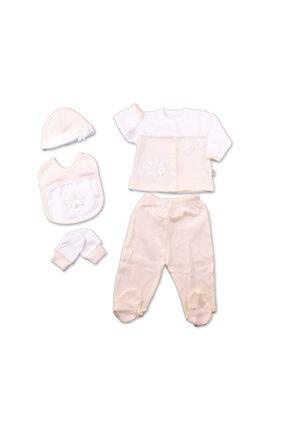 Chicco Gaye Bebe 5'li Hastane Çıkışı - Papatya Somon Rengi