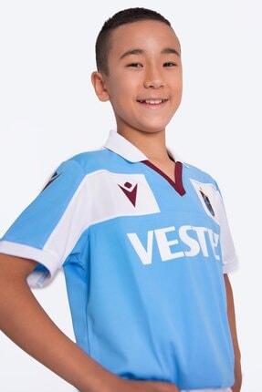 Trabzonspor Macron Forma Mavi Çocuk