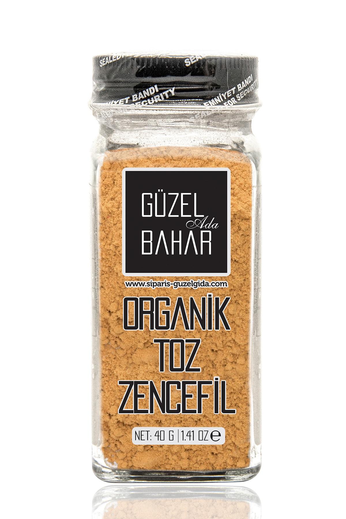 Güzel Gıda Organik Toz Zencefil 40 Gr 1