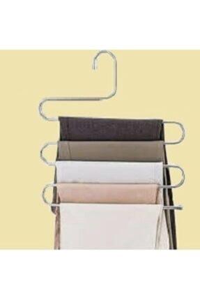 Seyzem 5 Katlı Dolap Içi Metal Pantolon Eşarp Şal Askısı