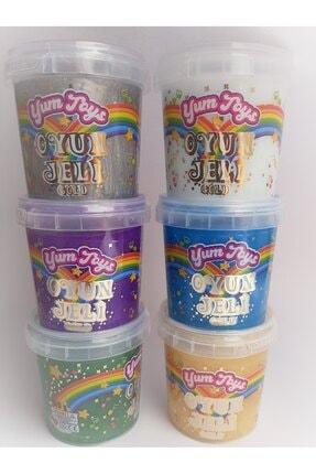 YumToys Oyun Jeli Yumtoys Gold Serisi Slaym - Hazır Slime 6 Renk 6 Kutu 140x6 Gr