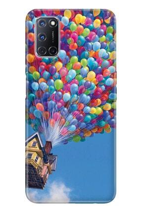 Oppo A72 Pure Modern Desenli Silikon Kılıf Balonlu Ev