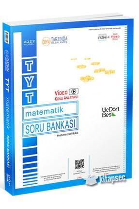 ÜçDörtBeş Yayınları 345 Üç Dört Beş Yayınları Tyt Matematik Soru Bankası 2022 Model