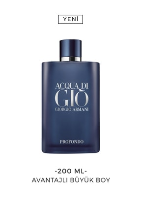 Giorgio Armani Acqua Di Gio Profondo Erkek Eau De Parfum 200 Ml 3614272865242