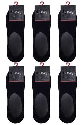 Pierre Cardin Erkek Babet 6 Çift Çorap Siyah