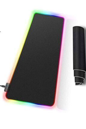 Rampage Mp-22 Siyah 300*800*3mm Rgb Ledli Gaming Mouse Pad Xl Mouse Pad Tam Boy