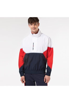 Tommy Hilfiger Tjm Lightweight Popover Jacket Erkek Beyaz Ceket
