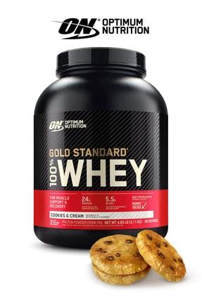 Optimum Nutrition Optimum Kurabiye Aromalı Gold Standard Whey Protein Tozu 2273 Gr