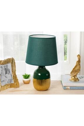 English Home Elegant Abajur 25x25x41,5 Cm Yeşil-gold
