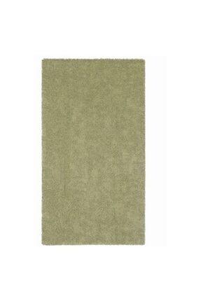 IKEA Halı 80x150 Cm Meridyendukkan Fıstık Yeşili Renk- Parlak Tüyler Yıkanmaz Modern Halı