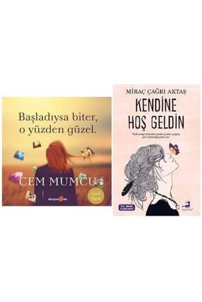 Olimpos Yayınları Kendine Hoş Geldin + Başladıysa Biter, O Yüzden Güzel (ciltli)