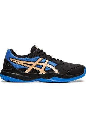 Asics Siyah Mavi Tenis Ayakkabısı
