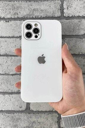 TrendShopping Apple Iphone 11 Pro Max Logolu Kamera Korumalı Lansman Gerçek Cam Kapak