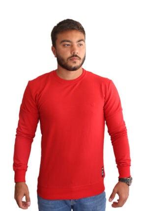 Ünsal Giyim Kırmızı Bisiklet Yaka Triko