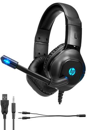 HP Dhe-8002 3,5mm Işıklı Gaming Mikrafonlu Oyuncu Kulaklık Ps 4-5 / Xbox / Pc