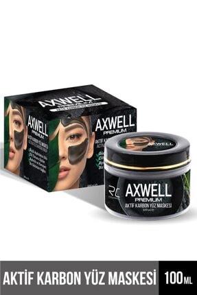 RC COSMETIC Axwell Premium Aktif Karbon Siyah Maske 100ml