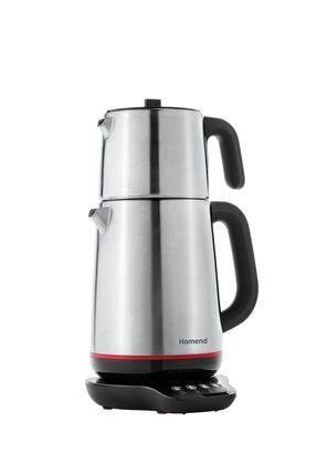 HOMEND Royaltea 1708h Konuşan Çay Makinesi Inox Siyah