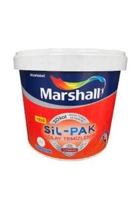 Marshall Sil-pak Silikonlu Yarı Mat Iç Cephe Duvar Boyası 2,5 Lt. Beyaz
