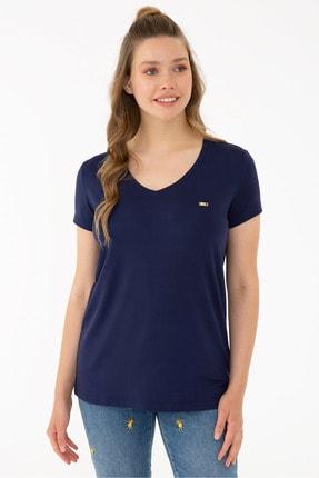 U.S. Polo Assn. Lacıvert Kadın T-Shirt
