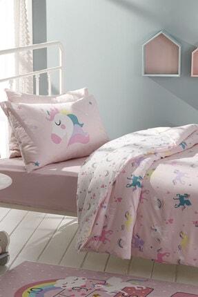 English Home Unicorns Pamuklu Çocuk Nevresim Takımı 160x220 Cm Pembe