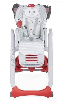 Chicco Polly 2 Start Mama Sandalyesi Kırmızı Fil