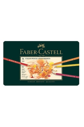 Faber Castell Polychromos Boya Kalemi 36 Renk Metal Kutu