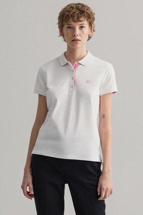Gant Kadın Beyaz Polo