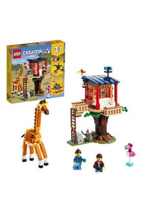 LEGO Creator 3'ü 1 Arada Safari Ağaç Evi /397 Parça / 7 Yaş 31116